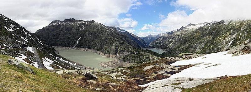 File:Panorama view of the Lake Grimsel and Räterichsbodensee.jpg
