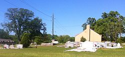 Panthersville Presbyterian Church Cemetery at Candler and Flat Shoals Rds