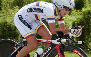 Paola Madriñán Colombian cyclist