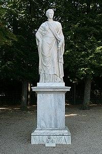 Parc de Versailles, demi-lune du bassin de Neptune, Faustine, Nicolas Frémery d'après l'antique 01.jpg