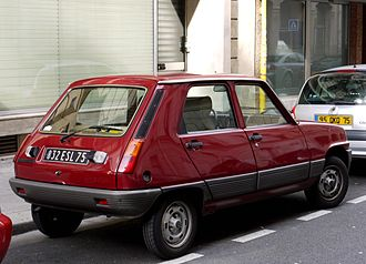 Renault 5 - First generation, five doors