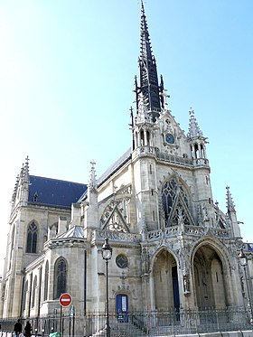 Image illustrative de l'article Église Saint-Bernard de la Chapelle