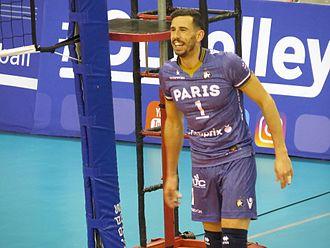 Nuno Pinheiro - Image: Paris Volley Zenith Kazan, CEV Champions League, 15 February 2017 06
