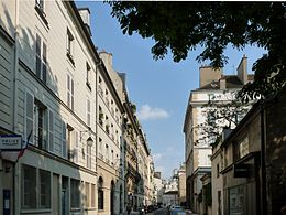 Image illustrative de l'article Rue de l'Abbaye (Paris)