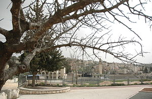 Beit Safafa - View of Beit Safafa from park
