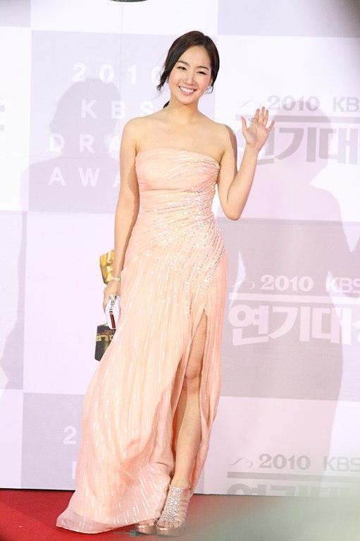 filepark minyoung at the 2010 kbs drama acting awards