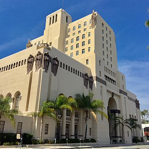Park Plaza Hotel (Los Angeles) - Park Plaza Hotel across from MacArthur Park in Los Angeles California