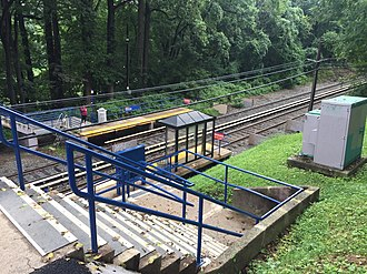 Parkview station - Image: Parkview Station 2
