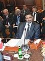 Participation du Dr.Rafik Abdessalem, à la réunion du conseil de la Ligue arabe- Une conférence internationale sur la Syrie le 24 février à Tunis. (6868840725).jpg
