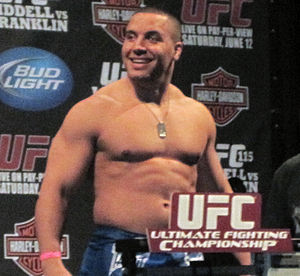 Pat Barry (kickboxer) - Image: Pat Barry weighs in UFC 115