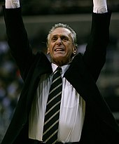 Pat Riley at a game