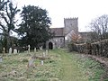 Path up to All Saints, East Dean - geograph.org.uk - 1145013.jpg