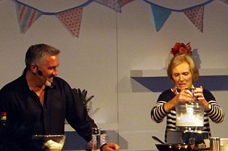 Mary Berry - Mary Berry and Paul Hollywood at Cake International London 2013