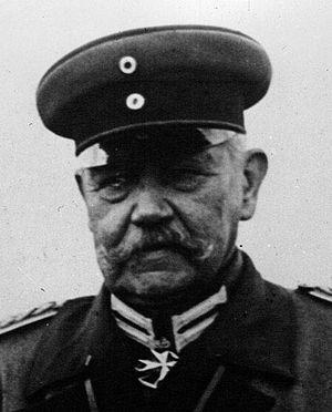 German presidential election, 1925 - Image: Paul Von Hindenburg Face