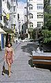 Pauline, Vulcan Lane, Auckland, New Zealand, 1969 - Flickr - PhillipC.jpg