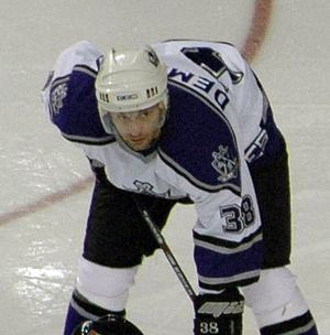 Pavol Demitra - Demitra during his tenure with the Los Angeles Kings
