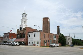 Paxton, Illinois - View of Downtown Paxton