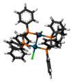 Pd2Cl2(CO)(dppm)2 3D stick.png