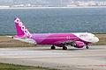 Peach Aviation, MM107, Airbus A320-214, JA802P, Departed to Sapporo, Kansai Airport (17197392715).jpg