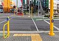 Pedestrian crossing across Manchester St, Christchurch, New Zealand.jpg