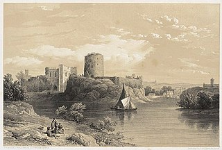 Pembroke castle, south Wales