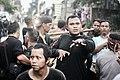 Penari laki-laki dalam trans2, Acara Musik Reak, Ujung Berung, Bandung, Jawa Barat, Indonesia.jpg