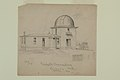 "Pencil Drawing ""Pritchett Observatory Glasgow Mo."" by A.B. Greene.jpg"