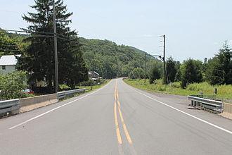 Pennsylvania Route 42 - Pennsylvania Route 42 north of Millville