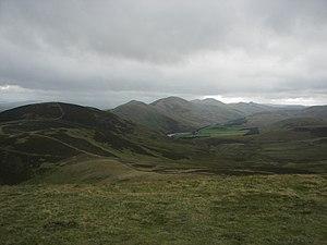 Pentland Hills in Midlothian, Scotland. Photo ...
