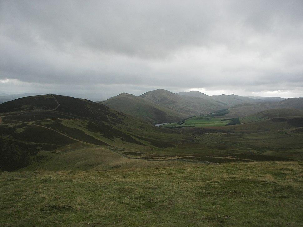 Pentland Hills from Allermuir