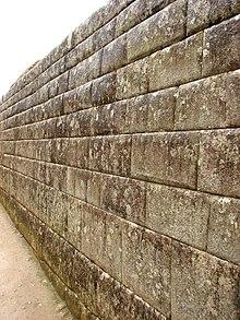Pared wikipedia la enciclopedia libre - Colocar piedra en pared ...