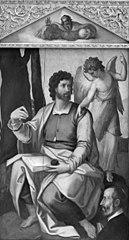 Matthew the Evangelist with Benefactor