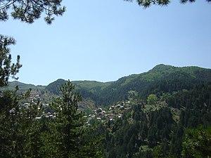 Perivoli, Grevena - Panoramic view of Perivoli from the east