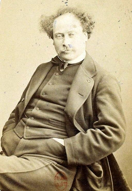 Personnalités des arts et des lettres - Alexandre Dumas fils (Nadar)