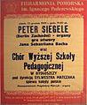 Peter Siegle Konzertplakat Bydgoszcz (Pl) 1989.jpg