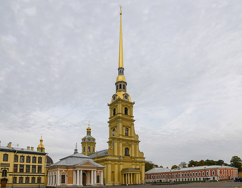 File:Peter and Paul Cathedral - The world's tallest Orthodox bell tower (21134416322).jpg