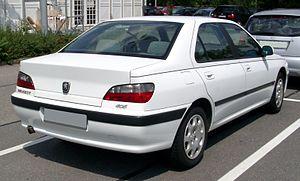 Peugeot 406 - Image: Peugeot 406 rear 20080730