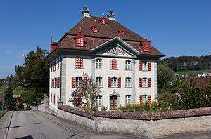 Pfaffnau - Image: Pfaffnau Pfarrhaus 2