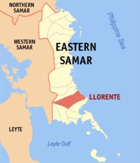 Llorente, Eastern Samar Municipality in Eastern Visayas, Philippines