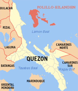 Lage bei Luzon