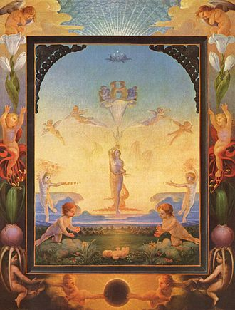 Romanticism - Philipp Otto Runge, The Morning, 1808