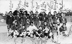Philippines national football team - The national team squad at the 1930 Far Eastern Championship Games.