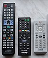 Philips DVD and Sony Blu-ray remotes.jpg