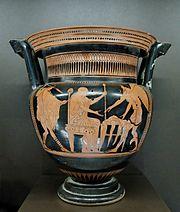 Boreadi spašavaju Fineja od Harpija, Altamura, 5. stoljeće p.n.e.