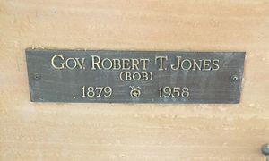 Robert Taylor Jones - Image: Phoenix Greenwood Memory Lawn Robert Taylor Jones