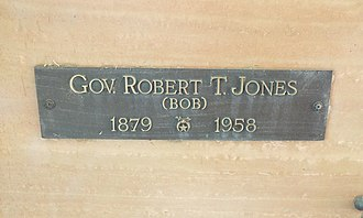 Robert Taylor Jones - Image: Phoenix Greenwood Memory Lawn Robert Taylor Jones