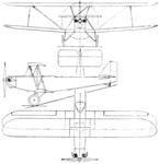 Phoenix Meteor 3-view Aero Digest October 1929.png