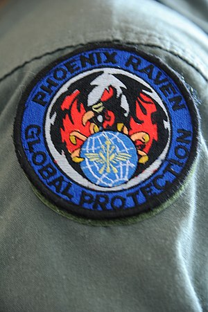 United States Air Force Security Forces - Phoenix Ravens patch of the elite unit of the Air Force Security Forces.