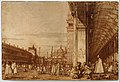 Piazza San Marco from the Southwest Corner, with the Procuratie Nuove on the Right MET DT3171.jpg