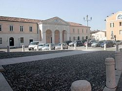 The Town Hall in Piazza Vantini